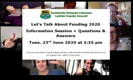 Online Funding info Session 2020