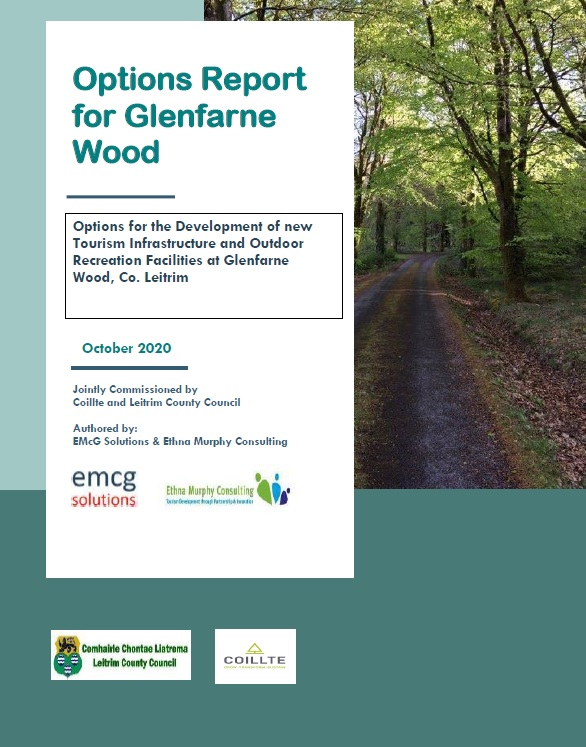 Cover of Options Report for Glenfarne Wood